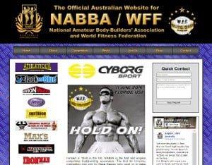 NABBA/WFF Australia gets an Updated Website