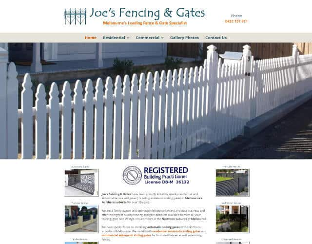 Joe's Fencing and Gates