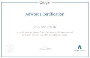 google ads certified dynamic websites