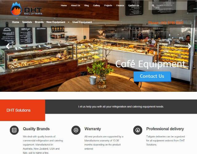 web design dht solutions