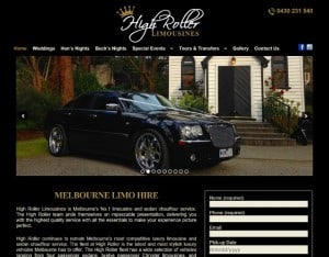 dynamic websites reviews for high roller limousines
