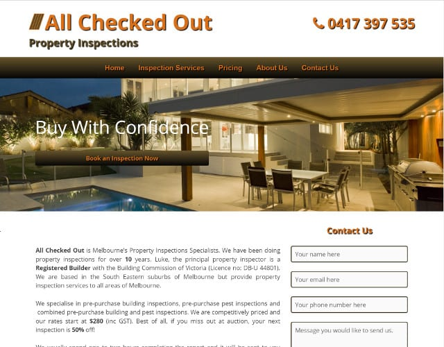 web design for all checked out