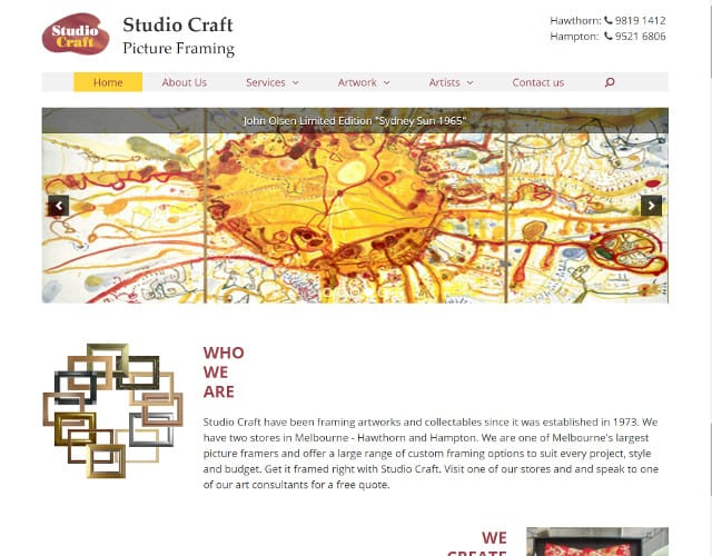web design studio craft