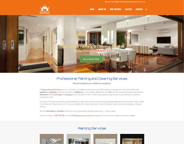 web design for tradie