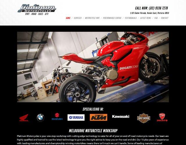 web design platinum