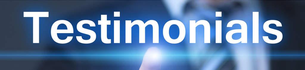 testimonials dynamic website clients