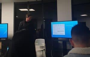 website speed john of dynamic websites giving presentation