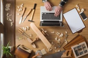 google remarketing carpenter tradie tools melbourne