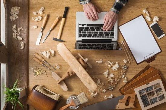 google remarketing carpenter tradie tools melbourne