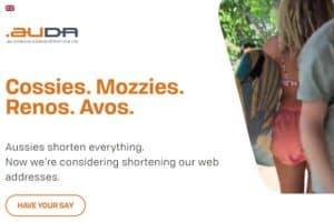 au domain names