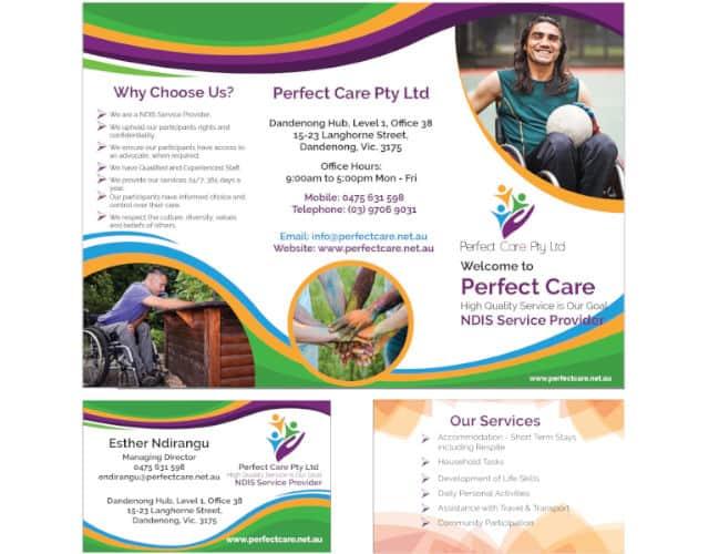 graphic design perfect care