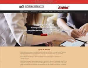 dynamic websites covid 19 update
