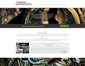 small business web design melbourne stewart locksmiths